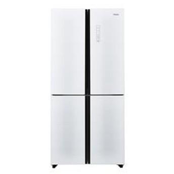 ハイアール468L 4ドアノンフロン冷蔵庫ホワイトJR-NF468A-W