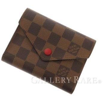 ルイヴィトン 三つ折り財布 ダミエ ポルトフォイユ・ヴィクトリーヌ N41659 LOUIS VUITTON