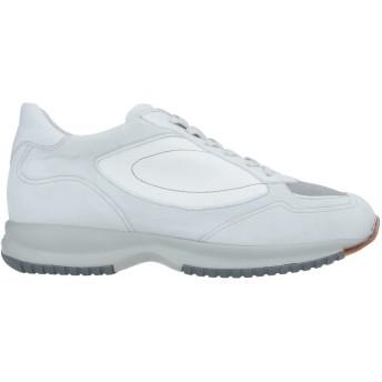 《セール開催中》SANTONI メンズ スニーカー&テニスシューズ(ローカット) ホワイト 5 革