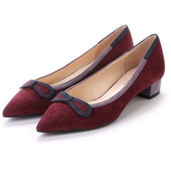 アンタイトル シューズ UNTITLED shoes パンプス UT4305 (ワインスエードコンビ)