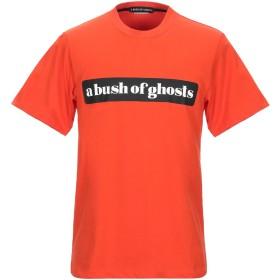 《期間限定セール開催中!》A BUSH OF GHOSTS メンズ T シャツ オレンジ S コットン 100%