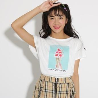 [マルイ]【セール】転写 Tシャツ/ピンクラテ(PINK latte)