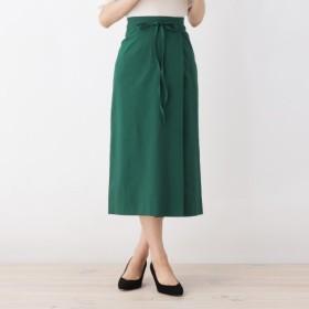 [マルイ]【セール】【42(LL)WEB限定サイズ】ラップナロースカート/オペークドットクリップ(OPAQUE. CLIP)
