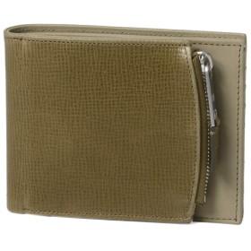 (マルタン マルジェラ) MARTIN MARGIELA ライン11 二つ折り財布 ベージュ S35UI0436 P2392 H7381 [並行輸入品]