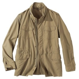 ミリタリーデザインブルゾン (袖。丈短めサイズ) ジャケット・ブルゾン