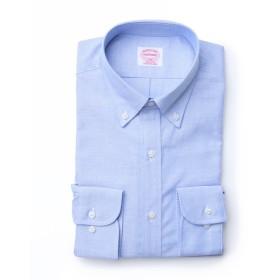 NEWYORKER 【定番】NYオックス / 長袖ボタンダウンシャツ ドレスシャツ,サックス(73)