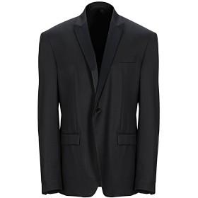 《期間限定セール開催中!》VERSACE COLLECTION メンズ テーラードジャケット ブラック 56 ウール 100% / レーヨン