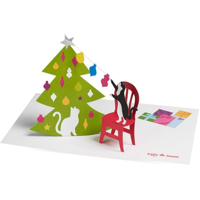 MoMA クリスマスカード クリスマスキャッツ