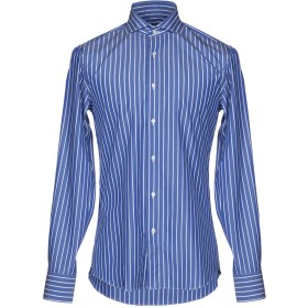 《期間限定セール開催中!》DANPOL Torino メンズ シャツ ブルー 41 コットン 100%