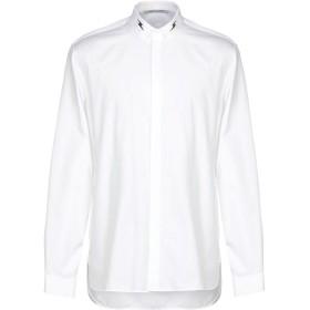 《期間限定セール開催中!》NEIL BARRETT メンズ シャツ ホワイト 41 コットン 100%
