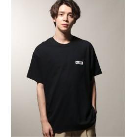 (JOURNAL STANDARD/ジャーナルスタンダード)GLOBE×relume 別注 beUNEMPLOYABLE Tシャツ/メンズ ブラック