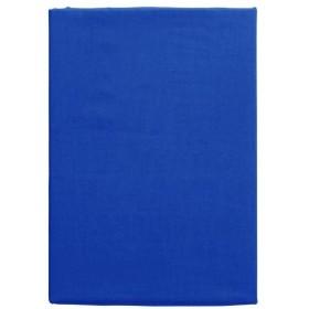 メリーナイト 日本製 綿100% ベッドシーツ 「フロム」 ダブル ブルー FM675001-73