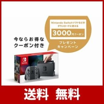 Nintendo Switch 本体 (ニンテンドースイッチ) 【Joy-Con (L) / (R) グレー】+ ニンテンドーeショップでつかえるニンテンドープリペ