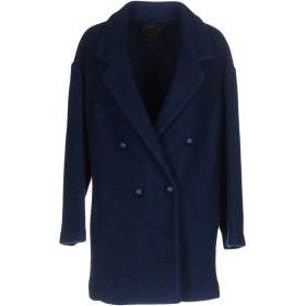 《期間限定 セール開催中》PINKO レディース コート ブルー 42 アセテート 50% / バージンウール 50%
