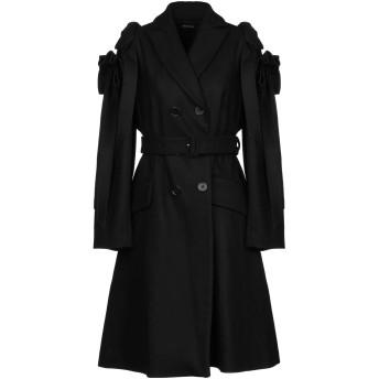 《期間限定セール開催中!》SIMONE ROCHA レディース コート ブラック 8 バージンウール 80% / ナイロン 20%