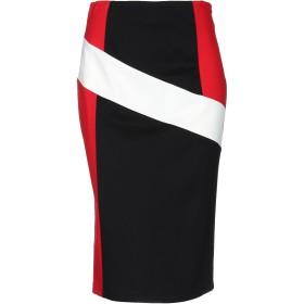 《期間限定 セール開催中》KAOS レディース 7分丈スカート ブラック 44 レーヨン 65% / ナイロン 30% / ポリウレタン 5%