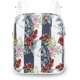 トロピカル ヤシの葉 フラワーズ リュックサック レディース おしゃれ 人気 2WAY リュック ワンショルダ 軽量 通学 旅行バッグパック
