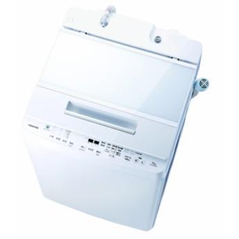 東芝10.0kg全自動洗濯機オリジナル ZABOONグランホワイトAW-10SDE7(W)