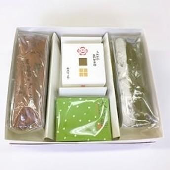 梅屋常五郎 パウンドケーキ・最中・豆あめの詰め合わせ