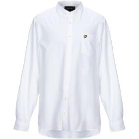 《期間限定 セール開催中》LYLE & SCOTT メンズ シャツ ホワイト XL コットン 100%