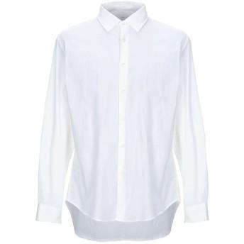 《期間限定セール開催中!》ALTEA メンズ シャツ ホワイト 41 コットン 97% / ポリウレタン 3%