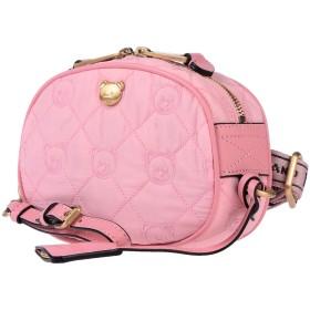 《セール開催中》MOSCHINO レディース バックパック&ヒップバッグ ピンク 革 / 紡績繊維