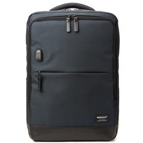 カバンのセレクション バーマス バウアー3 リュック ビジネスバッグ メンズ B4 BERMAS 60077 メンズ ネイビー フリー 【Bag & Luggage SELECTION】