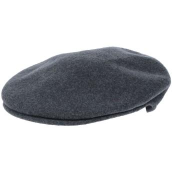 《9/20まで! 限定セール開催中》KANGOL メンズ 帽子 鉛色 M バージンウール 100%