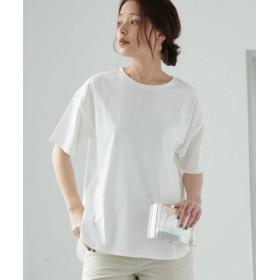 (ROPE' PICNIC/ロペピクニック)【WEB限定】サイドスリットTシャツ/レディース ホワイト(10)
