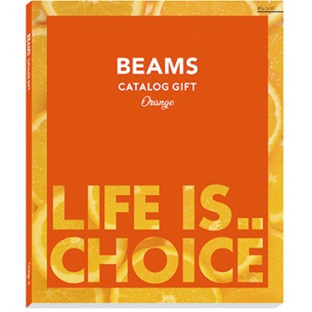 [BEAMS CATALOG GIFT] Orange
