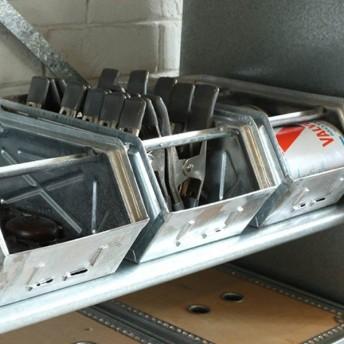 ダルトン DULTON パーツストッカー ガルバカラー 小物ケース 工具箱 インテリア スチール ( 収納ボックス 前開き 収納ケース 小物収納 収納 )