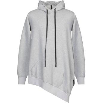 《期間限定セール開催中!》BEN TAVERNITI UNRAVEL PROJECT メンズ スウェットシャツ ライトグレー S コットン 100% / ポリウレタン