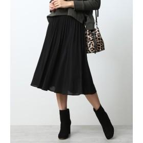 ROPE' mademoiselle サーキュラープリーツフレアスカート