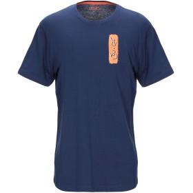 《セール開催中》LIU JO MAN メンズ T シャツ ダークブルー XXL コットン 100%