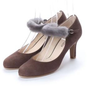 アンタイトル シューズ UNTITLED shoes パンプス (オークスエード)
