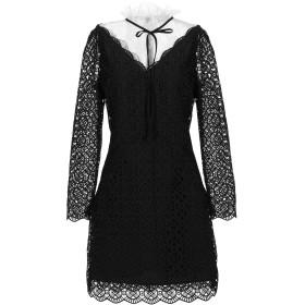 《セール開催中》SANDRO レディース ミニワンピース&ドレス ブラック 40 ポリエステル 100% / ナイロン