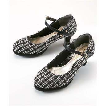 2WAYストラップパンプス(低反発中敷)(ワイズ4E) パンプス, Pumps, 浅口皮鞋, 淺口皮鞋