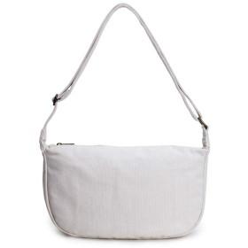 カジュアルバッグ レディース 斜めがけレディース ショルダー バッグ 鞄 ななめがけ かばん ちいさめ シンプル ポシェット (Beige)