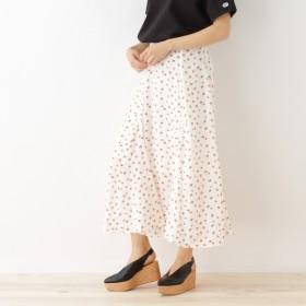[マルイ]【セール】Lスカート(フラワープリントマキシスカート)/オゾック(OZOC)