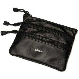 グラム Tank leather pouch メンズ ブラック F 【glamb】