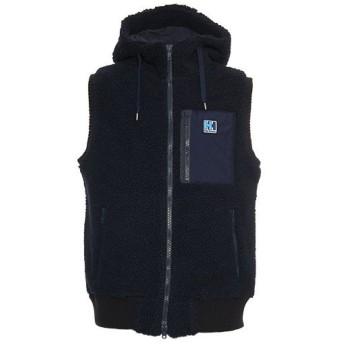ヘリーハンセン(HELLY HANSEN) メンズ アウター ファイバーパイルサーモ ベスト FIBERPILE THERMO Vest ネイビー HOE51855 N 防寒 ウェア カジュアル フード