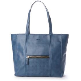 フィラノ FIRANO 2WAYフロンドZIP×パンチングショルダートートバッグ (BLUE)
