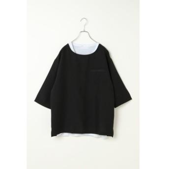 [マルイ]【セール】7分アンサンブルシャツT/イッカ メンズ(ikka)