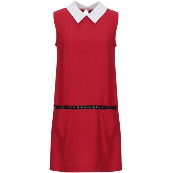 《期間限定 セール開催中》LUNATIC レディース ミニワンピース&ドレス レッド 40 コットン 98% / ポリウレタン 2% / ポリエステル