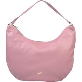 《期間限定セール開催中!》J & C JACKYCELINE レディース 肩掛けバッグ ピンク 革 100%