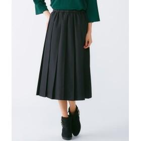 プリーツスカート(オトナスマイル) (大きいサイズレディース)スカート,plus size