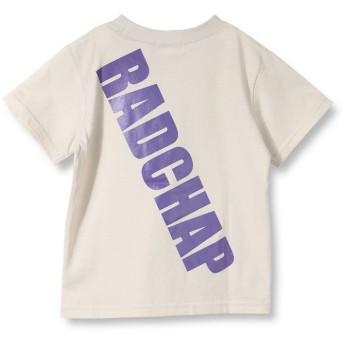 ブランシェス バックロゴ半袖Tシャツ(90~140cm) レディース ベージュ 90cm 【branshes】