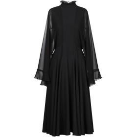 《期間限定 セール開催中》GIAMBA レディース 7分丈ワンピース・ドレス ブラック 42 ポリエステル 100%