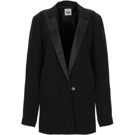 《セール開催中》MY TWIN TWINSET レディース テーラードジャケット ブラック S ポリエステル 95% / ポリウレタン 5%
