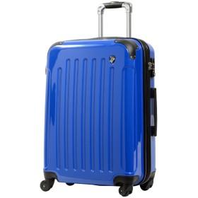 SS型 ジャックブルー/KY-FK37 スーツケース キャリーケース 機内持ち込み TSAロック搭載 超軽量 鏡面加工 (13日用)